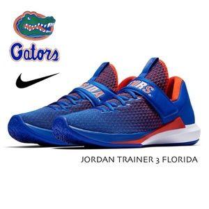 JORDAN FLORIDA GATORS - Nike Trainer 3 Gym Shoe